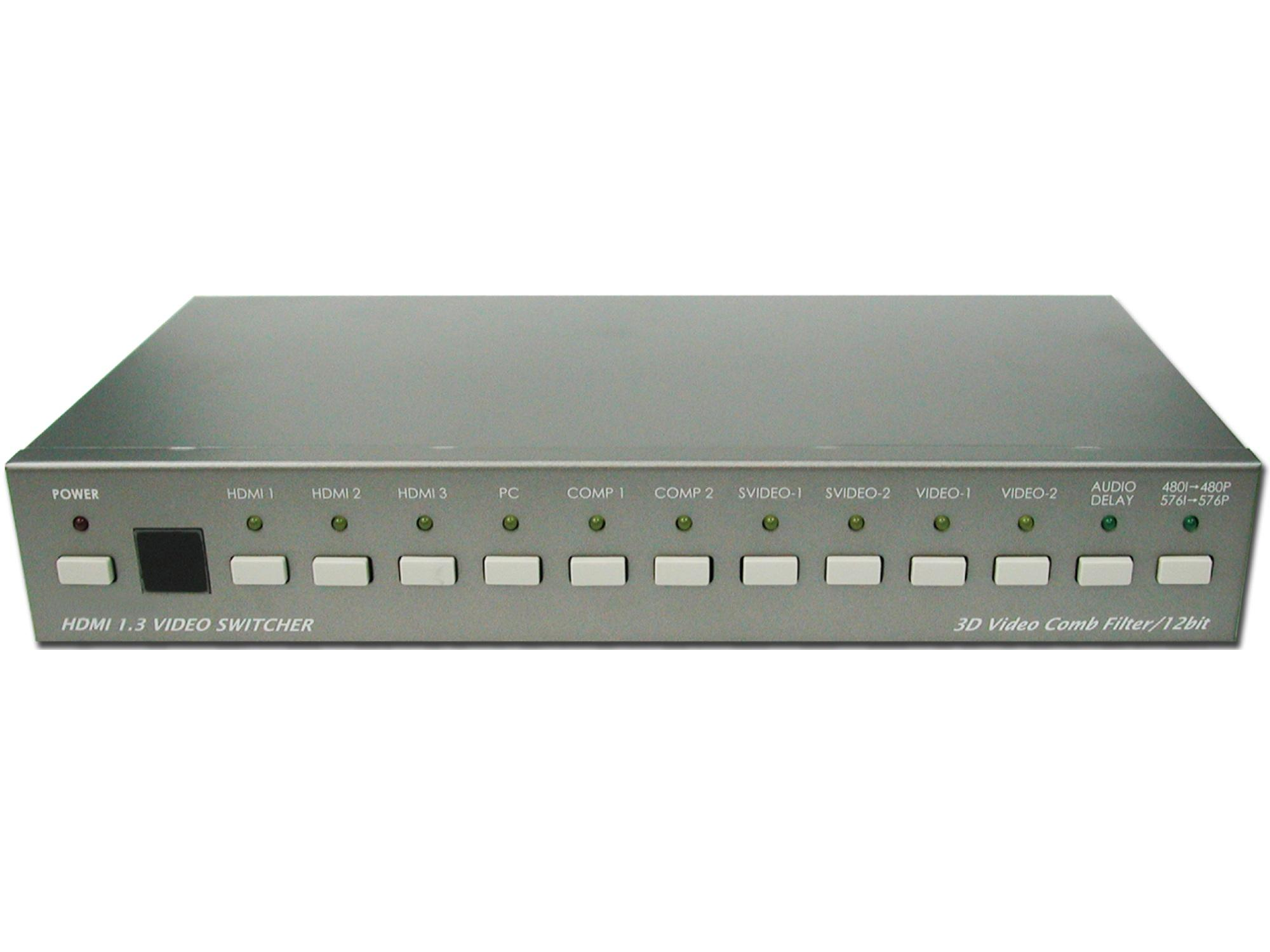 A-NeuVideo ANI-5300 PC/Video/HD to HDMI V1.3 Switcher