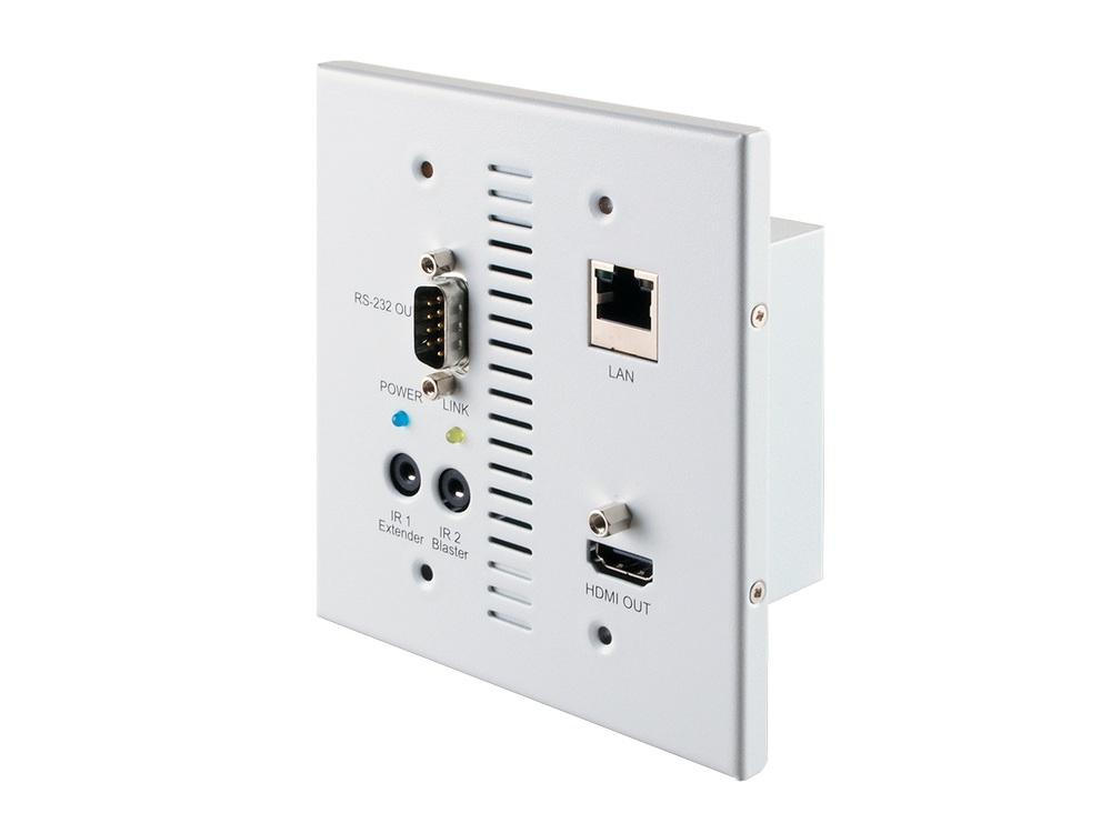 A-NeuVideo ANI-705WPR HDMI over CAT5e/6/7 WallPlate Extender (Receiver) with IR/RS-232/LAN/PoE