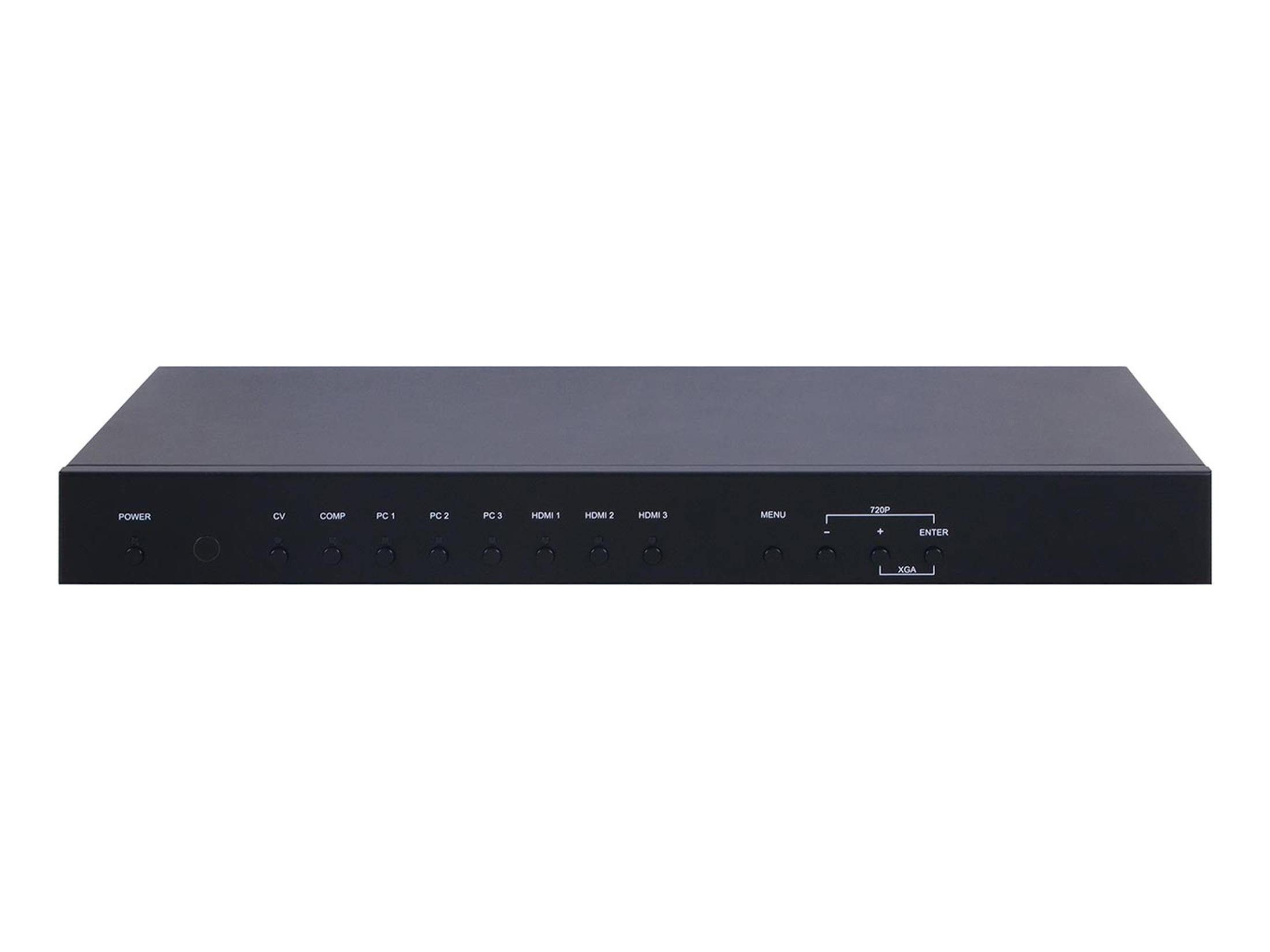 A-NeuVideo ANI-8MFS 8 INPUT HDMI/VGA MULTI-FORMAT SCALER SWITCH with VOLUME CONTROL