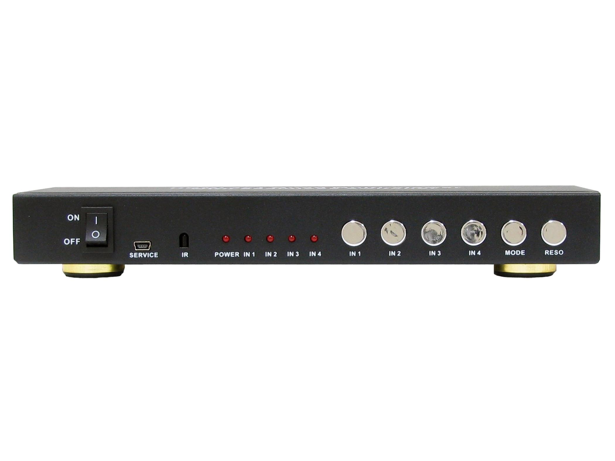 A-NeuVideo ANI-QUAD-MINI HDMI Quad Multiviewer with Seamless Switcher