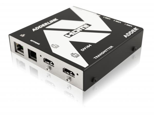 Adder ALDV104K-US AdderLink Digital AV HDMI 2 to 4 Extender (Transmitter/Receiver) Kit