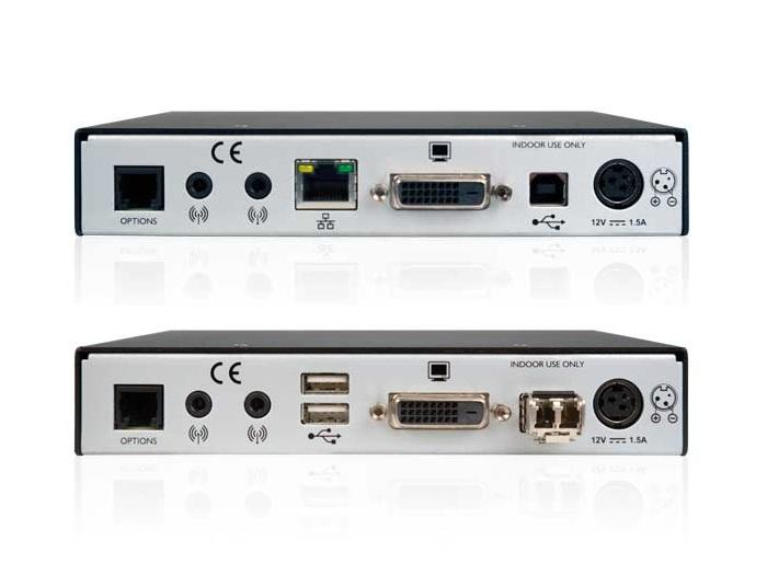Adder XD150FX-MM-US DVI/USB2.0/KVM Extender (Transmiter/Receiver) Set over Multimode Single Duplex Fiber Cable