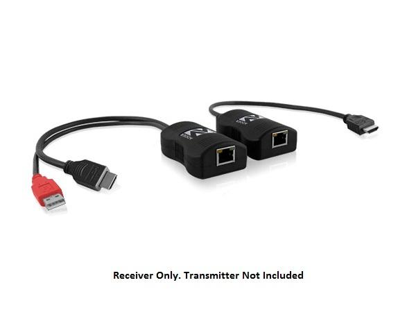Adder ALDV100R Line powered HDMI digital video Extender (Receiver) over a single cable