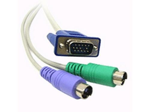 Adder VADD-PS2-5M D25-PS2 6ft Cable for X-KVM/P X2-KVM/P X2-SILVER X2-DA-SILVER