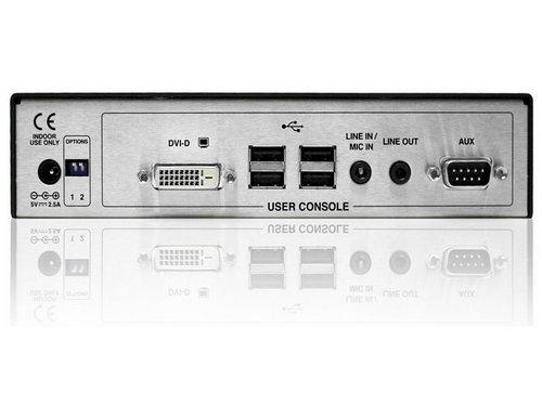 Adder ALIF 1000R Network DVI Extender featuring full DVI, Digital Audio, USB True Emulation(Receiver Only)