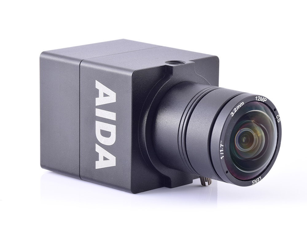Aida UHD-100A UHD 4K/30 HDMI 1.4 EFP/POV Camera with TRS Stereo Audio Input