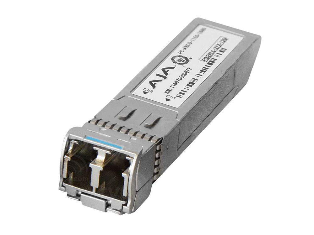 AJA FiberLC-2-Tx Dual LC 3G Fiber Tx SFP for use with FiDO//FS2//FS1-X