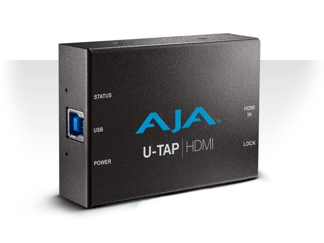 AJA U-TAP-HDMI Simple USB 3.0 Powered HDMI Capture