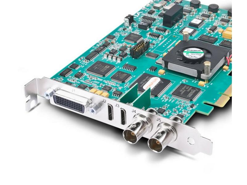 AJA Z-OEM-LHi-NC HD/SD 10-bit Digital and 12-bit Anaolg PCIe Card with HDMI I/O PCIe only/no cables