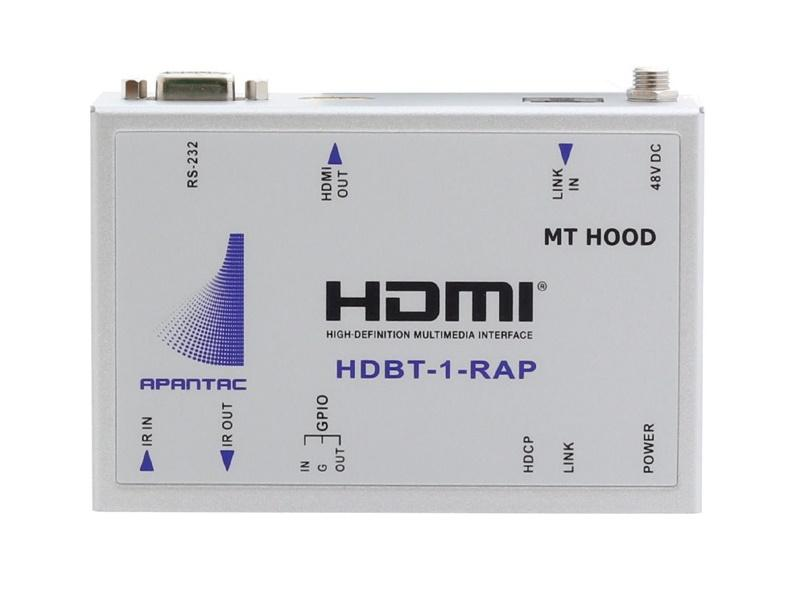Apantac HDBT-1-RAP HDMI Extender (Receiver) over CAT 5e/6 up to 100 meters at 1920x1080p