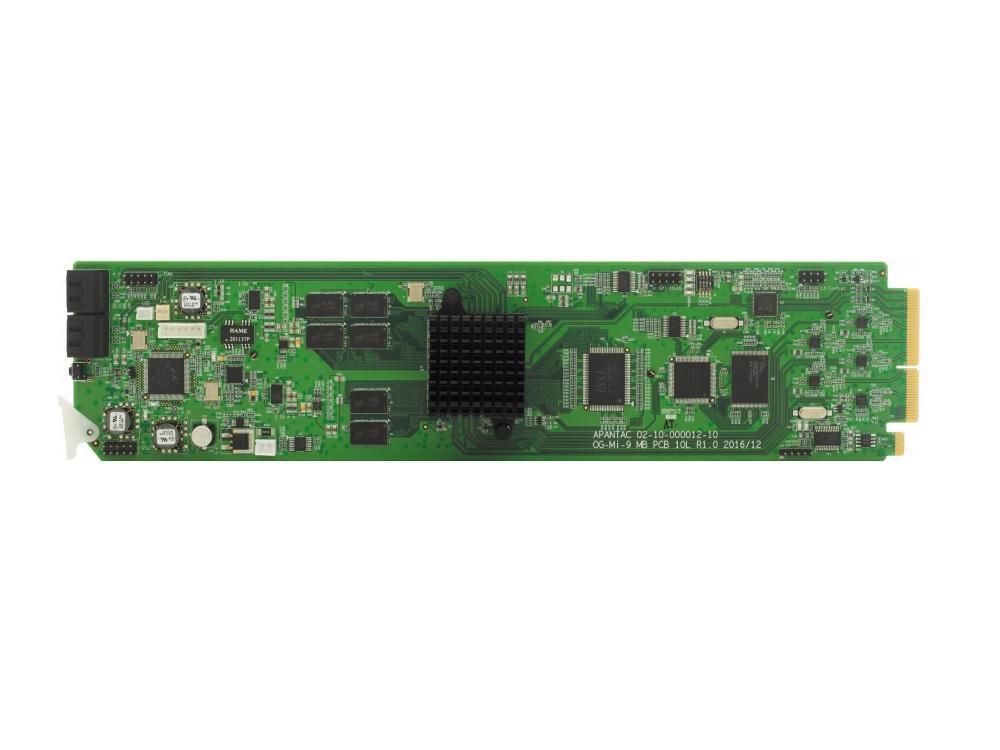 Apantac OG-Mi-9-MB 9 Input openGear Multiviewer Card with SDI Output