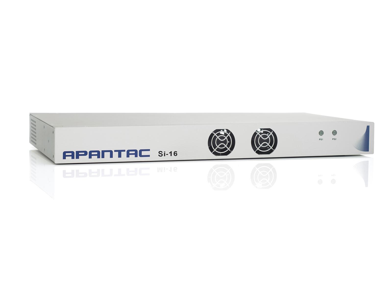 Apantac Si-16  Two 8x1 VoIP (ST 2022-6)/HDMI/SDI Multiviewer in 1 RU