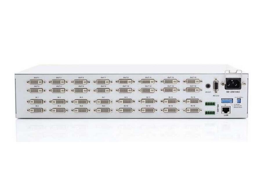 Apantac DVI-16x16 16x16 DVI Matrix Switch with IR/RS232/IP control