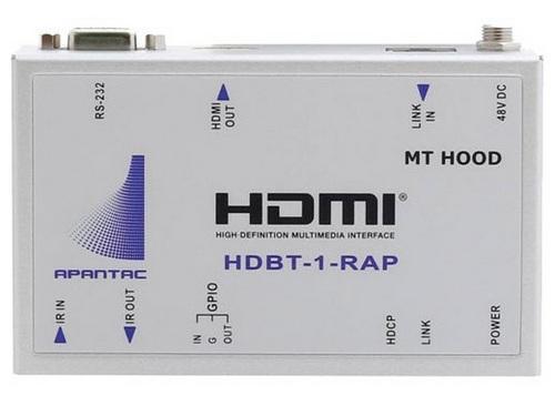 Apantac HDBT-SET-4 HDBaseT HDMI over CATx Extender (Transmitter/Receiver) Kit