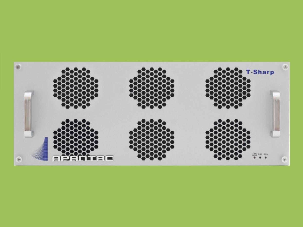 Apantac T-56x8-4RU-S 4 RU 56x8 3G/HD/SD-SDI/CVBS I/O Multiviewer w UOM-SFP-A