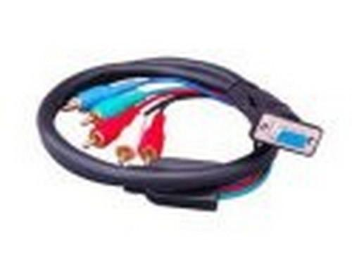 Apantac HDTV-C-SR Component Video to VGA Breakout Cable