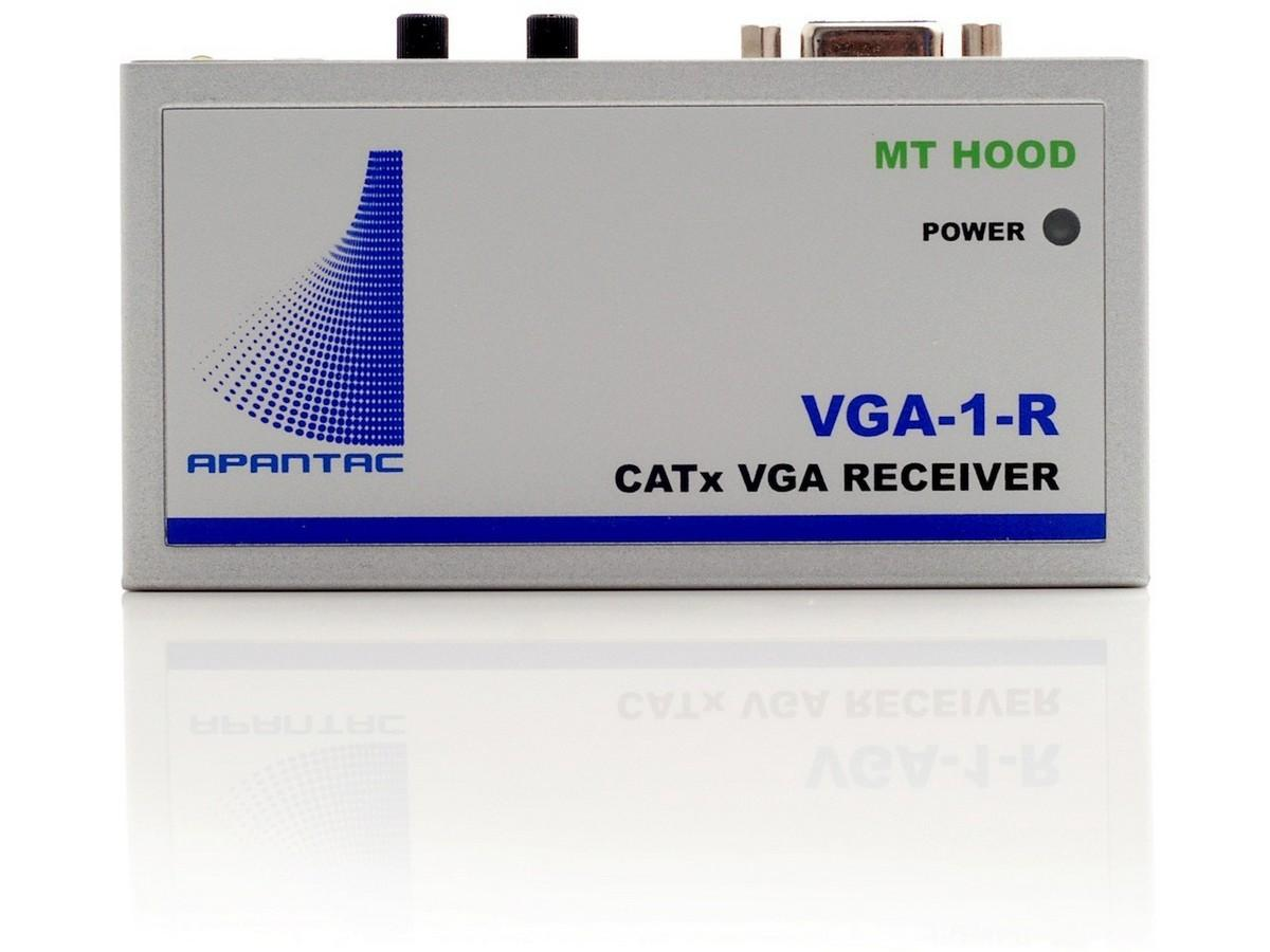 Apantac VGA-1-R Single port VGA Extender (Receiver) with Audio up to 1000ft