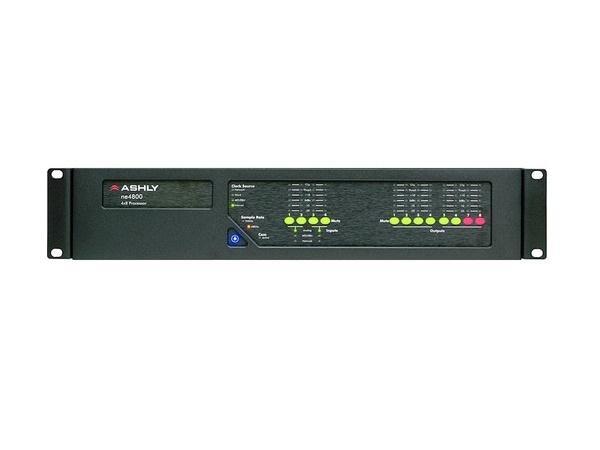 Ashly ne4800ds Protea DSP Audio System Processor 4x8 I/O w 4x8 Ch AES3 I/O