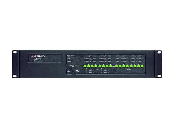 Ashly ne8800m Protea DSP Audio System Processor 8x8 I/O w 2pcs 4-Chan Mic Inputs