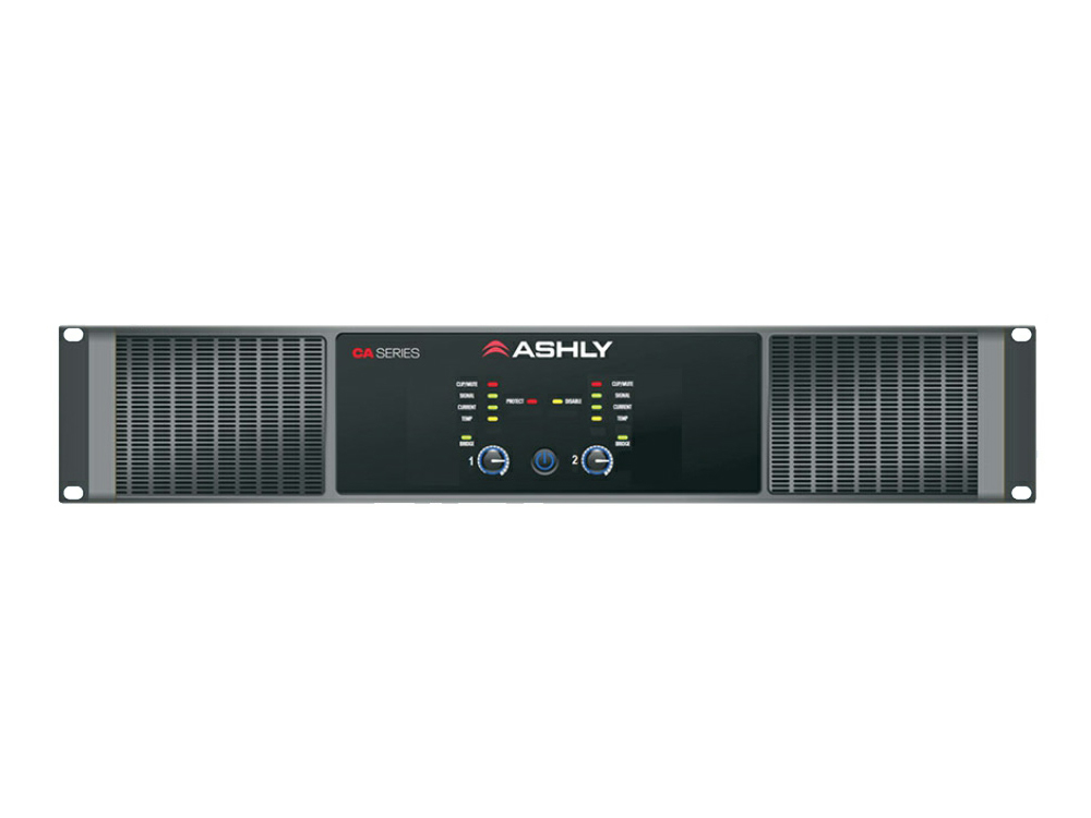 Ashly CA 1.52 CA Series 2Ch Power Amplifier with 1500W per channel