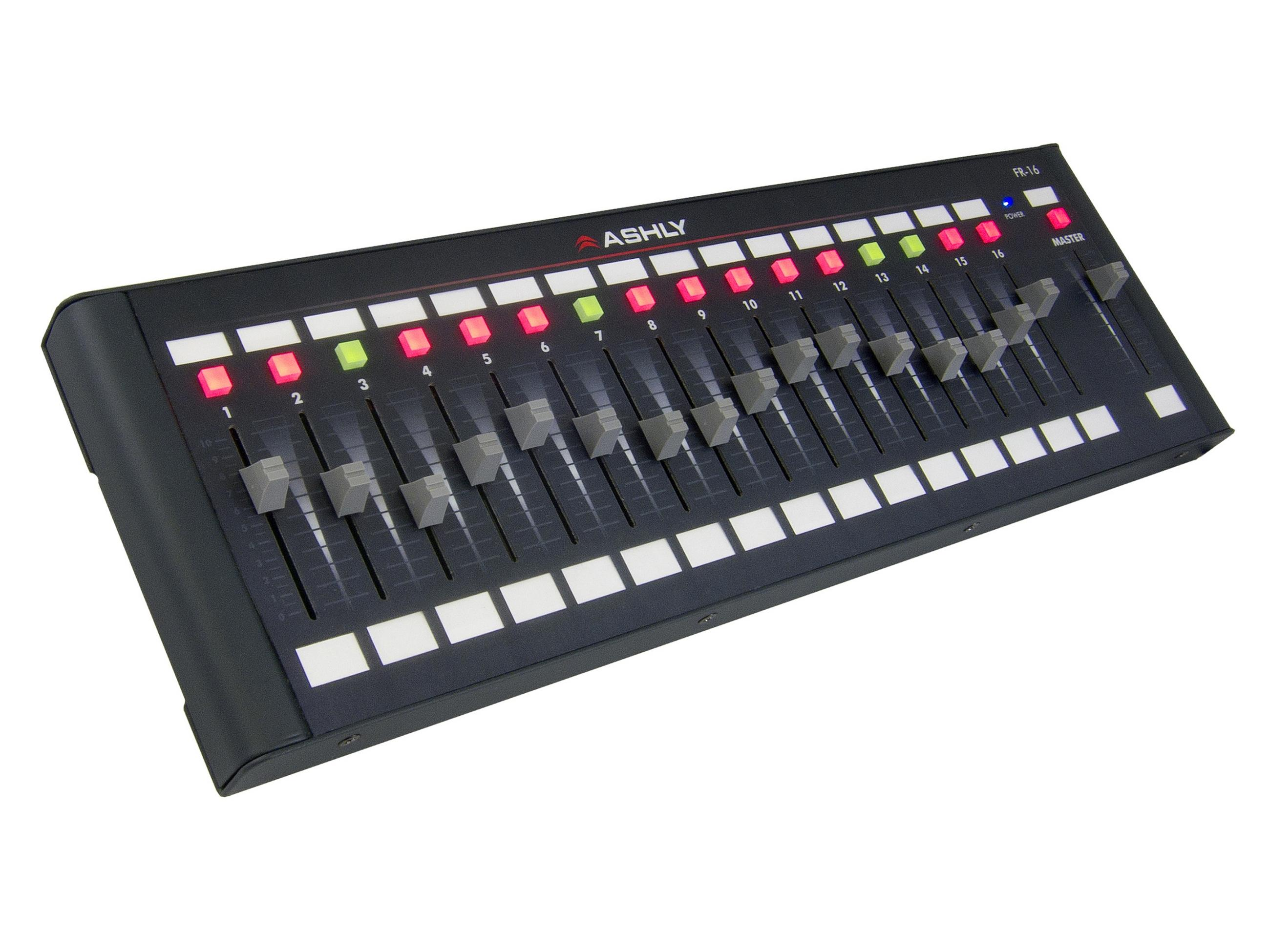 Ashly FR-16 Fader Remote/Network Programmable 16-Ch   Master