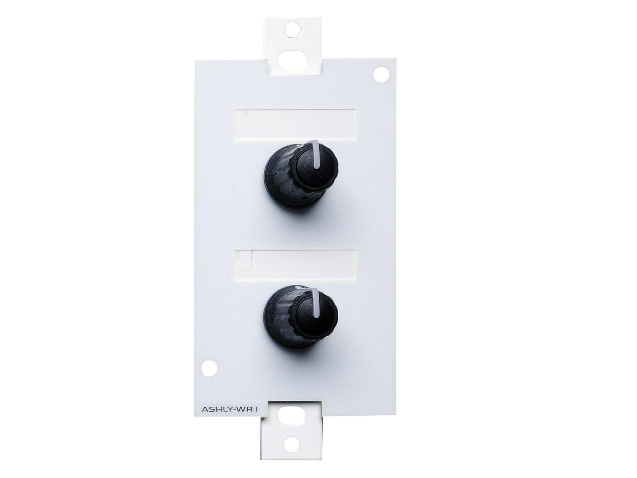 Ashly WR-1 Wall Remote/dual rotary potentiometer