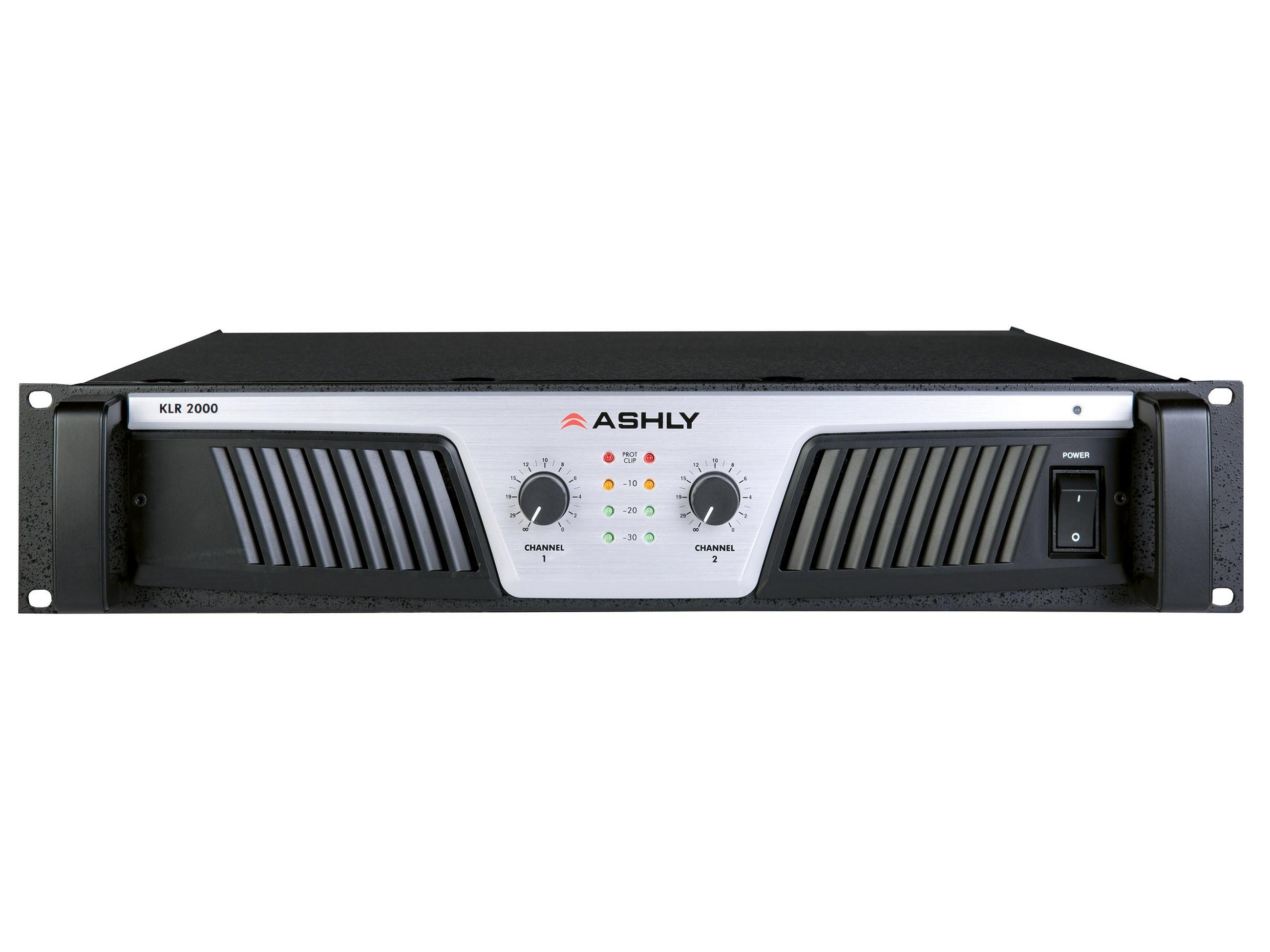 Ashly KLR-2000 Power Amplifier 2 x (1000W 2)(600W 4)(350W 8) Ohms