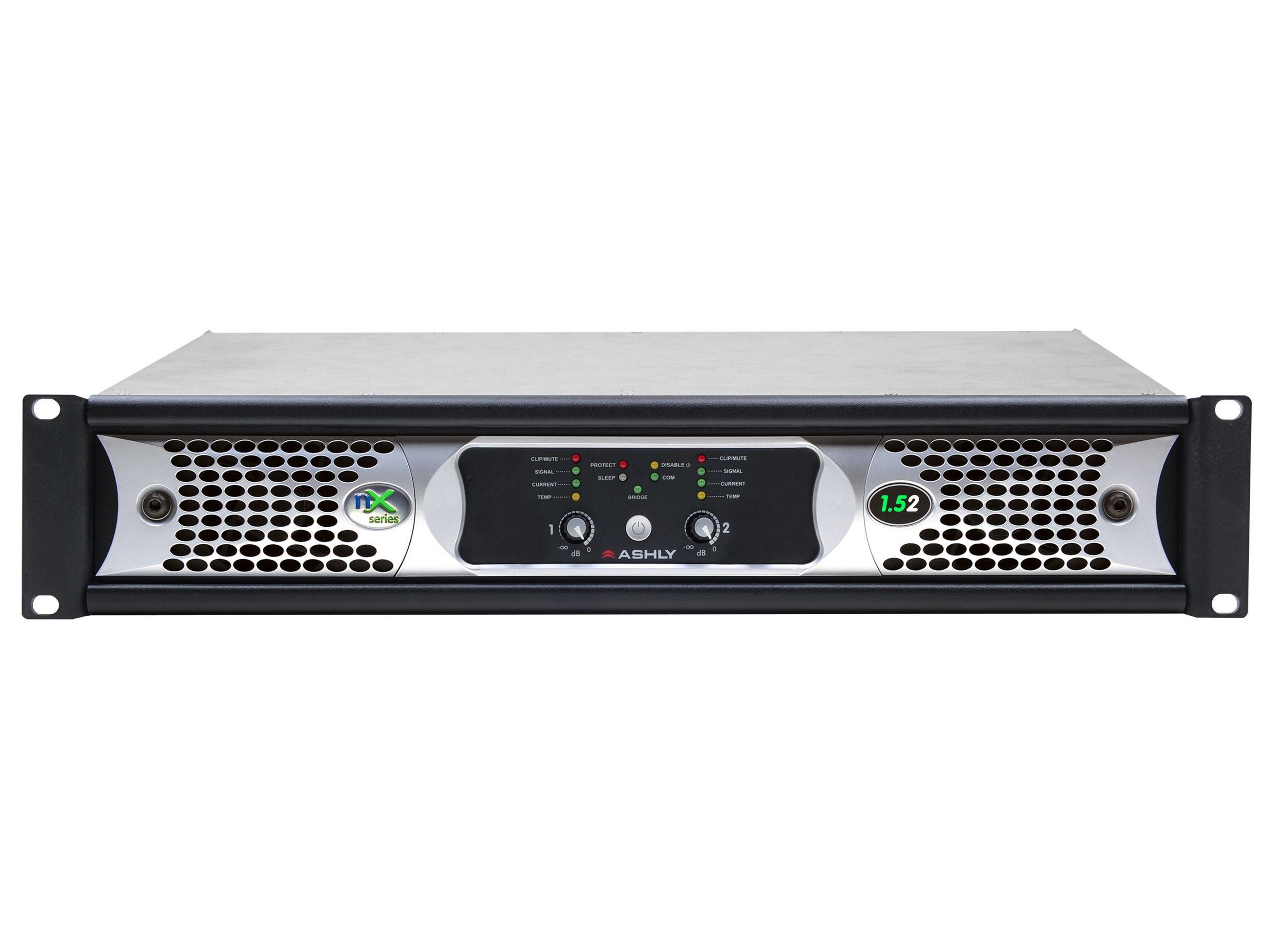 Ashly nX1.52 Power Amplifier 2 x 1500 Watts/2 Ohms