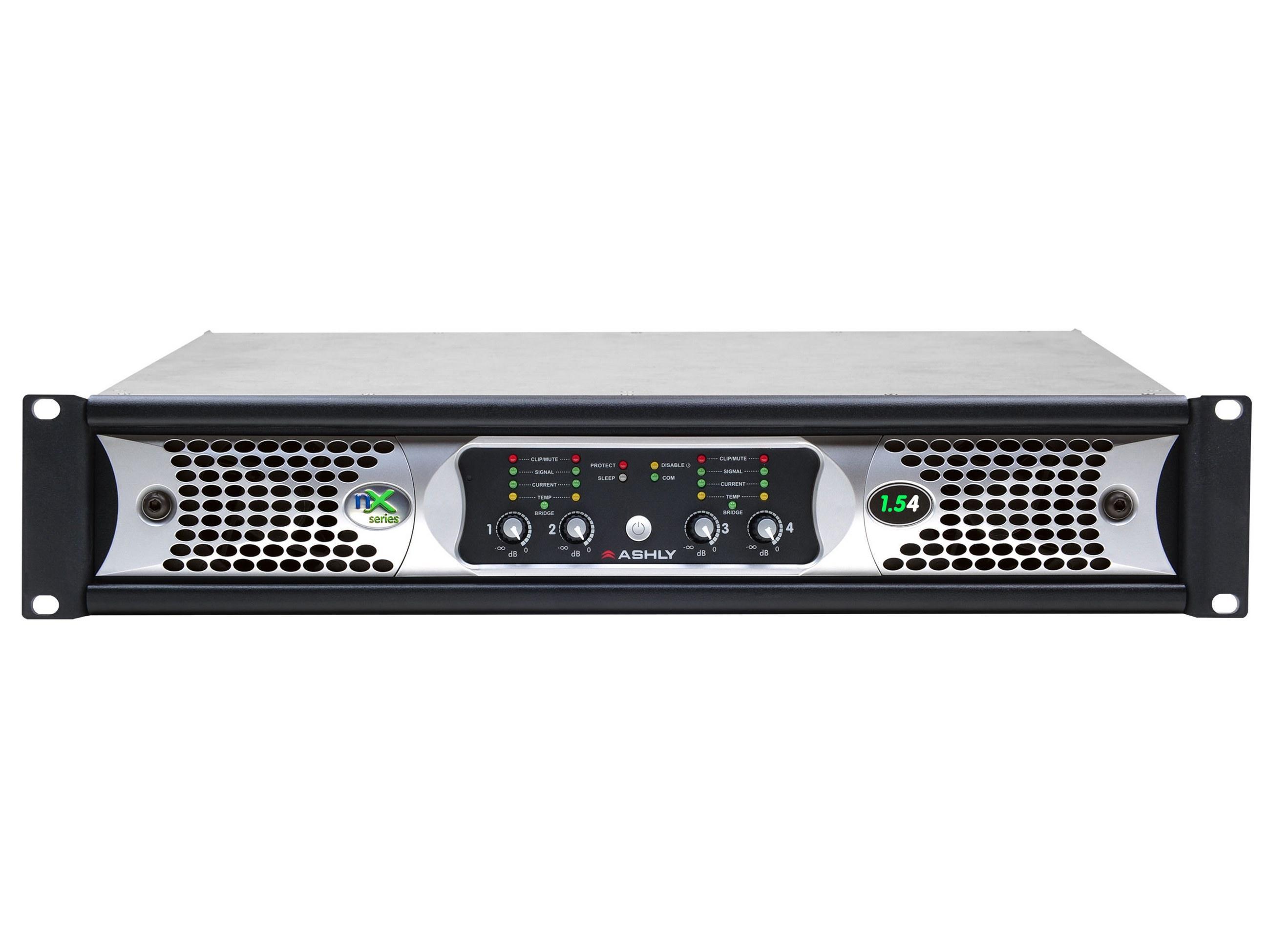 Ashly nX1.54 Power Amplifier 4 x 1500 Watts/2 Ohms