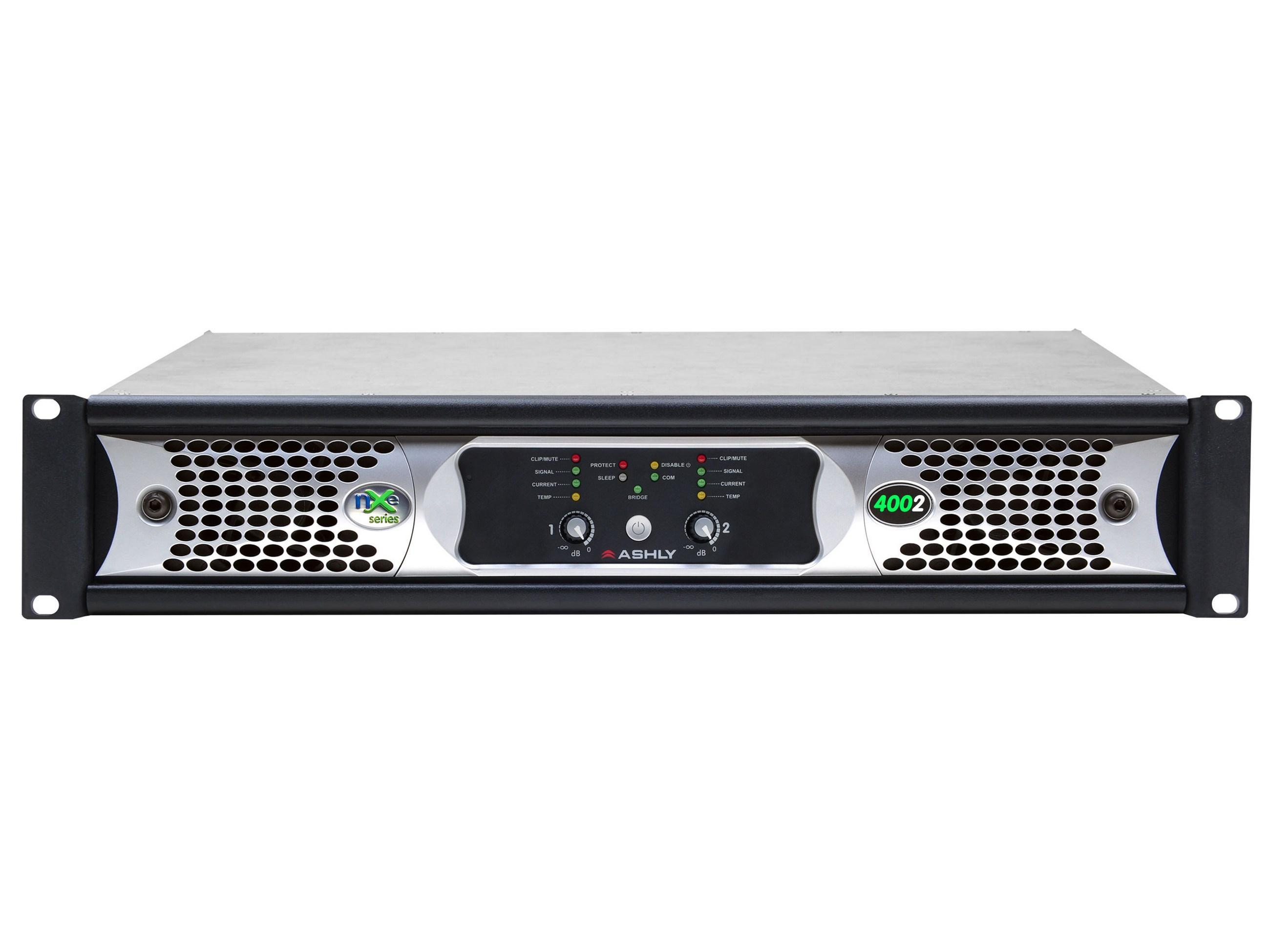 Ashly nXe4002 Network Power Amplifier 2 x 400 Watts/2 Ohms