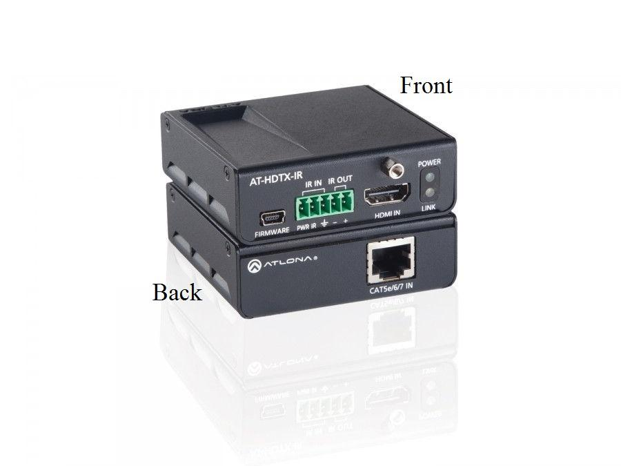 Atlona AT-HDTX-IR HDMI HDBaseT-Lite Extender (Transmitter) over Single CAT5e/6/7 with/IR