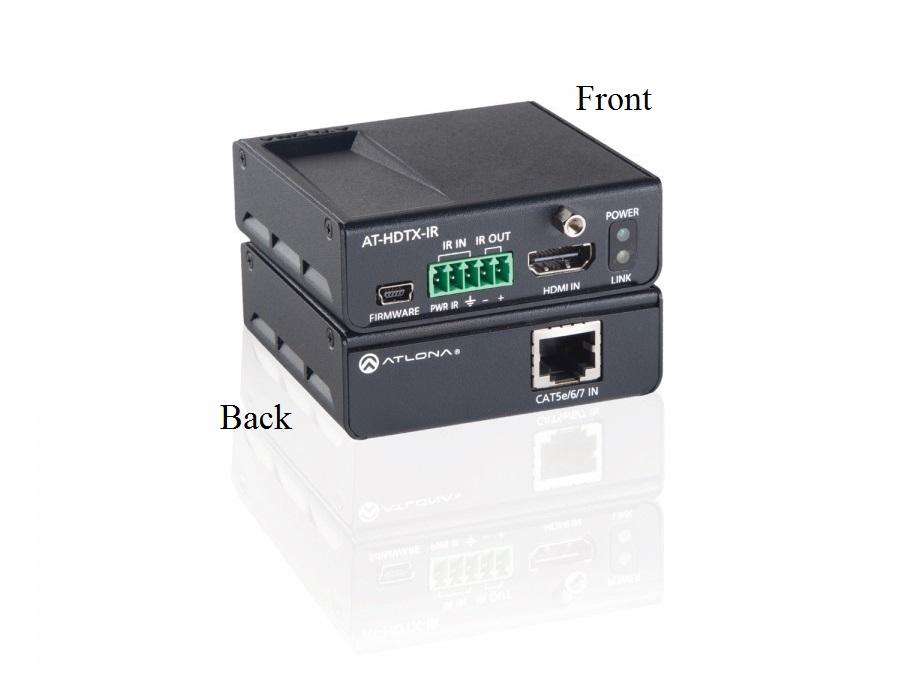 Atlona AT-HDTX-IR-B HDMI HDBaseT-Lite Transmitter over Single CAT5e/6/7 with/IR