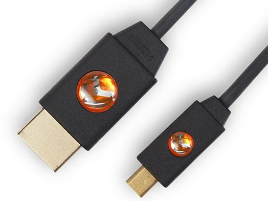Atlona AT-LCM-9-S 9ft Micro HDMI (D) to HDMI (A) Cable for Microsoft Surface RT Tablet