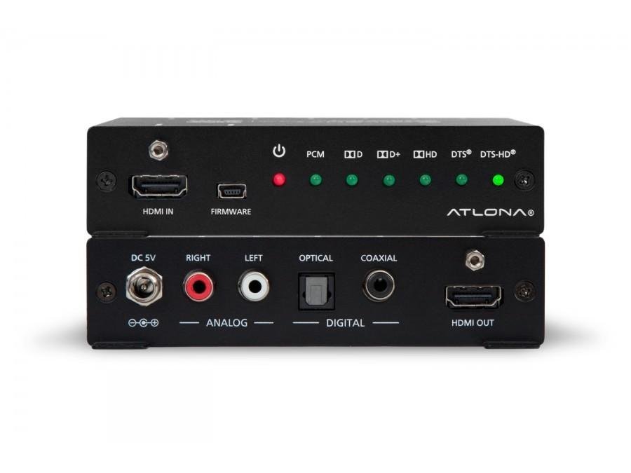 Atlona AT-HD-M2C HDMI Multichannel Audio to 2 CH Stereo Converter/Extractor