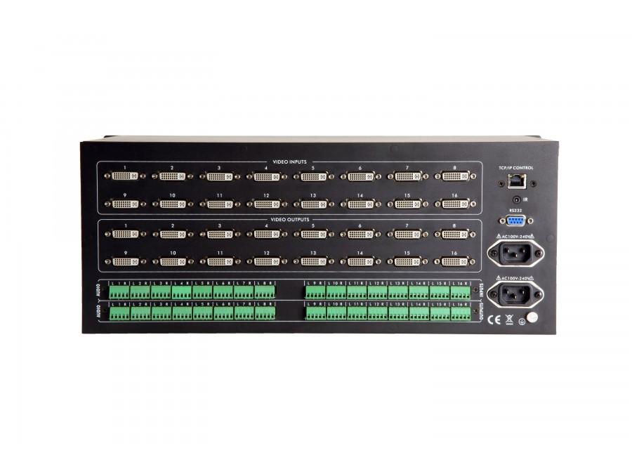 Atlona AT-HDDVI1616-AM 16x16 DVI and Audio Matrix Switcher