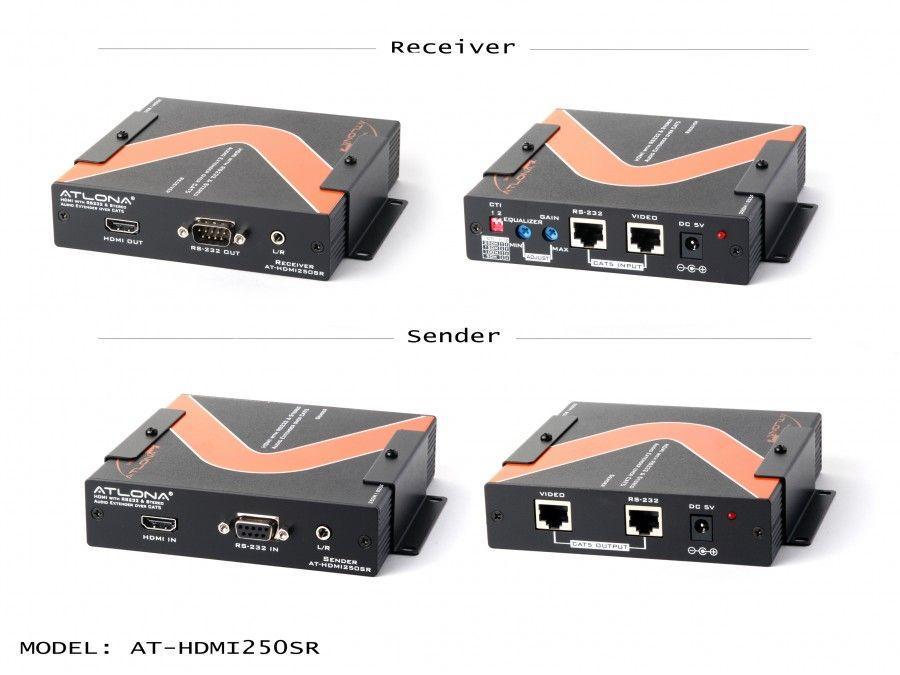 Atlona AT-HDMI250SR ATLONA HDMI over cat5 EXTENDER UP TO 850FT