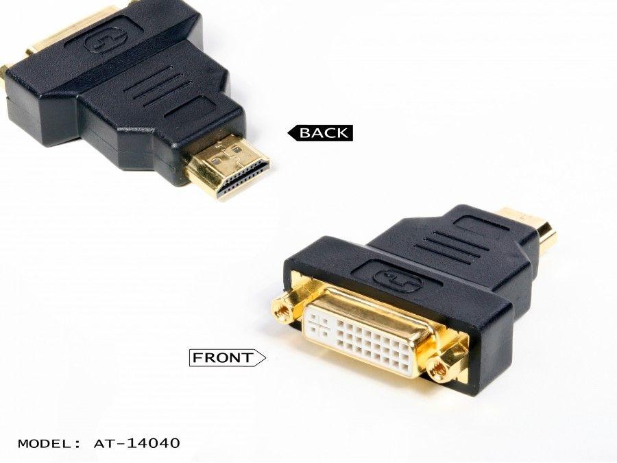 Atlona AT14040 DVI FEMALE TO HDMI MALE ADAPTER