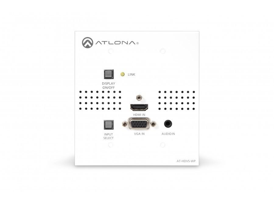 Atlona AT-HDVS-TX-WP-b HDMI/VGA/Audio HDBaseT Extender with Display Control (US/UK)