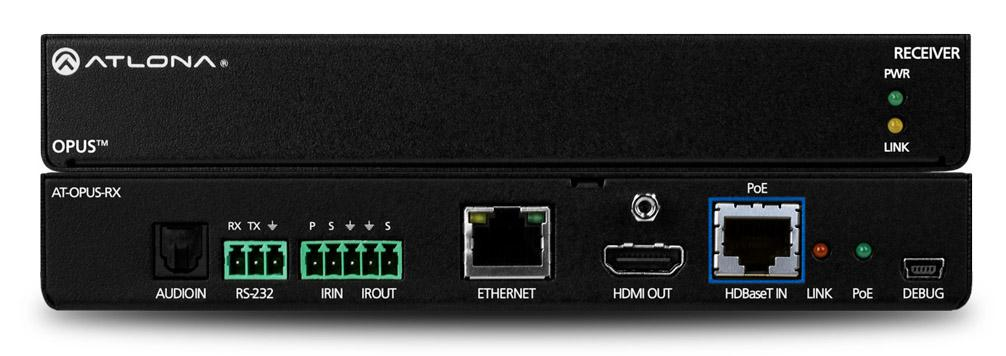 Atlona AT-OPUS-RX 4K HDR HDBaseT Extender (Receiver) for Opus Matrix Switchers
