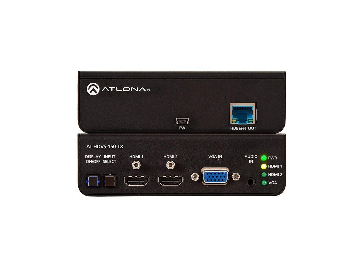 Atlona AT-HDVS-150-TX 3-In HDMI/VGA Extender (Transmitter) with HDBaseT Out