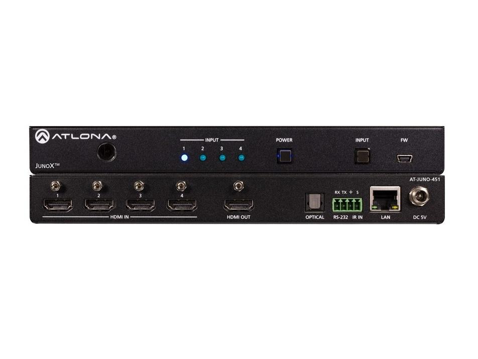 Atlona AT-JUNO-451 HDR 4-Input 4k HDMI Auto Switch