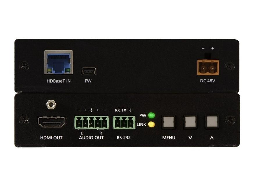 Atlona AT-HDVS-150-RX HDBaseT Scaler (Receiver) with HDMI and Analog Audio Output