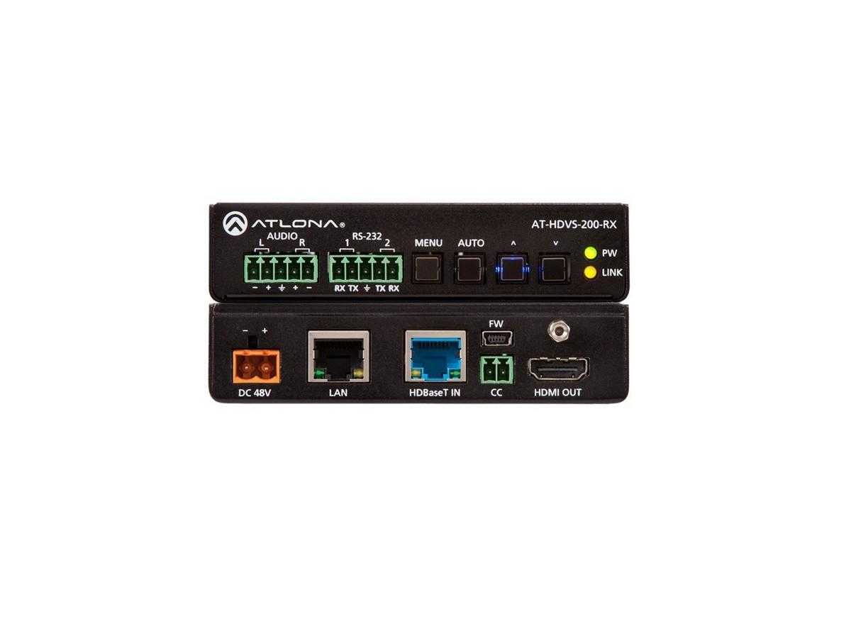 Atlona AT-HDVS-200-RX HDBaseT/NET Extender (Receiver) with HDMI/Audio Outputs