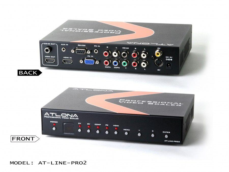 Atlona AT-LINE-PRO2-b Video Scaler with HDMI output