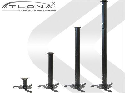 Atlona AT-PJB-3B UNIVERSAL PROJECTOR MOUNT up to 38in EXTENSION ( BLACK )