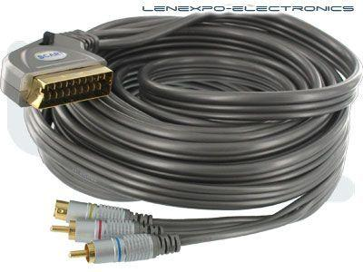 Atlona 19-014L-10 10m/33ft HQ Scart to S-Video And Audio w In/Out Switch