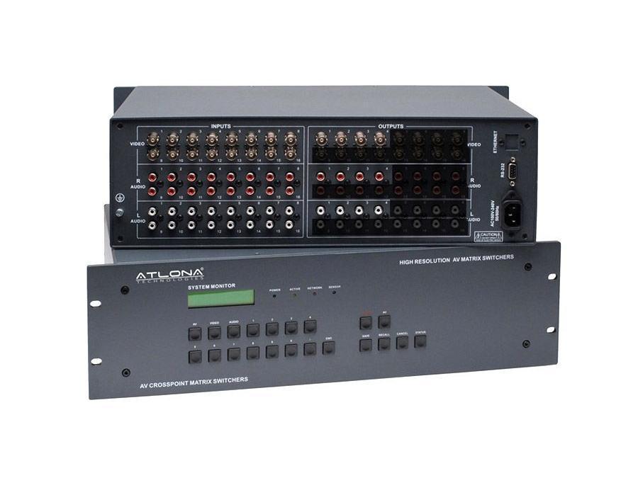 Atlona AT-AV1604 16x4 Composite Audio/Video Switch
