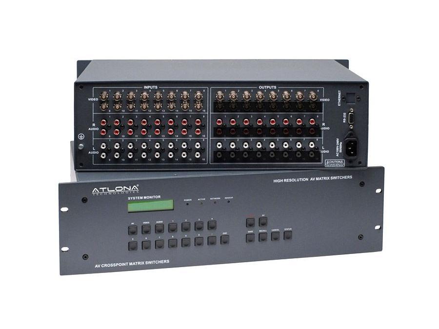 Atlona AT-AV1608 16x8 Professional Composite Audio/Video Matrix Switch