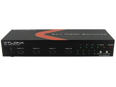 Atlona AT-HD-V81 8x1 HDMI 1.3 Switch with 3D Support