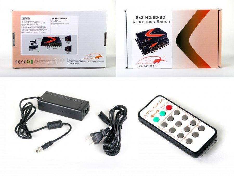 Atlona AT-SDI82M Atlona 8x2 HD/SD-SDI reclocking Switch